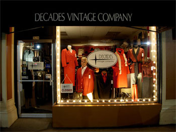 Decades Vintage Company Portland Oregon
