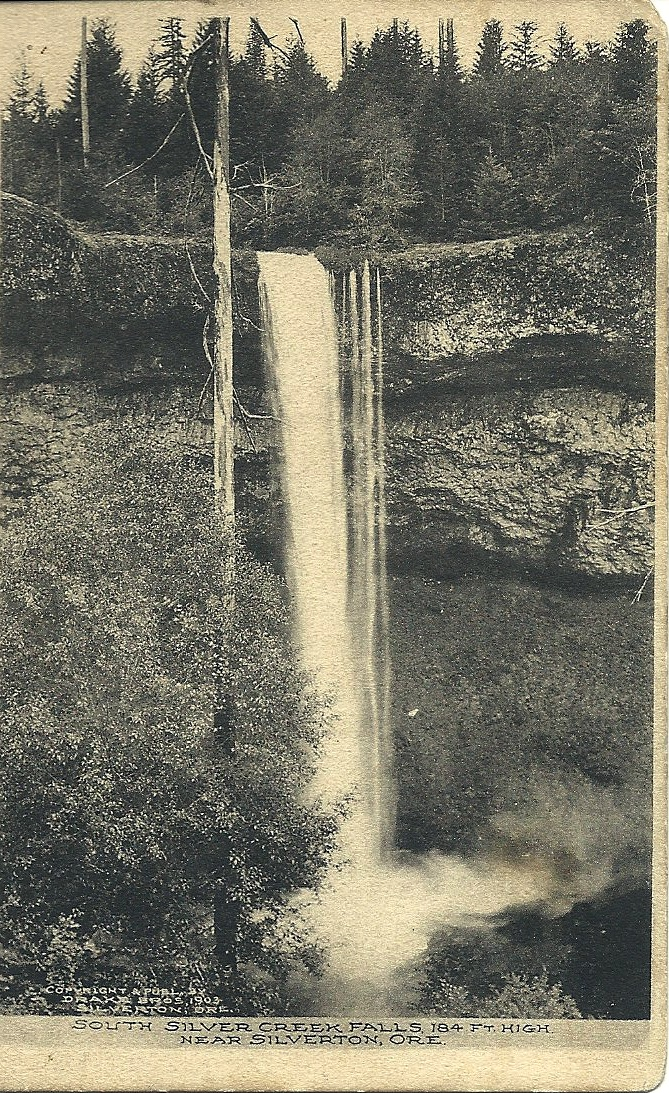 antique oregon postcard