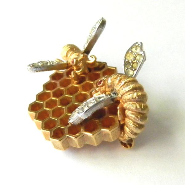 Marcel Boucher Honeycomb Brooch