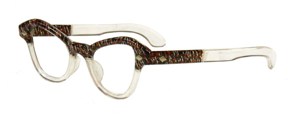 Retro Eyeglass Frames Portland Oregon : 1950s horn rimmed eyeglass frames