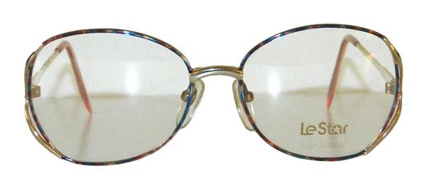 Vintage multi color eyeglass frames