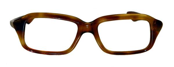 Eyeglass Frame Color : Vintage amber color eyeglass frame