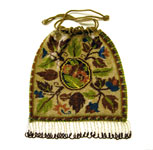 antique beaded handbag