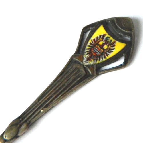 Enameled Germany souvenir spoon